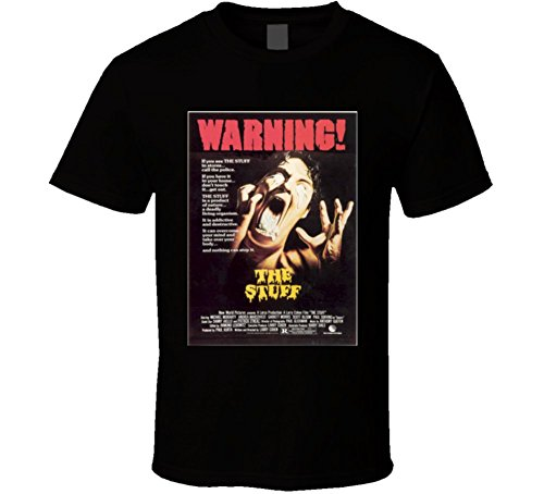 The-Stuff 1980s Cult Horror Movie T-shirt Black
