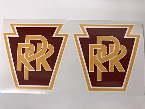 - 2 PRR PA Railroad Decals by SBDdecals.com