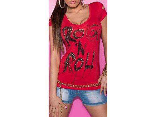 ATELIER DEL RICAMO - Camisa deportiva - para mujer Rojo