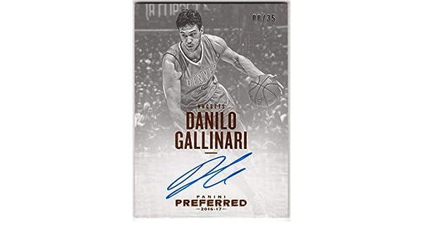 Amazon.com: Danilo Gallinari 2016-17 Panini Preferred On ...