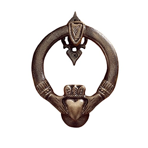(Design Toscano Claddagh Authentic Foundry Door Knocker)