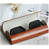 Travel Portable Glasses Box Hard Eyeglasses Case with Magnetic for Men and Women(Grown) for Glasses
