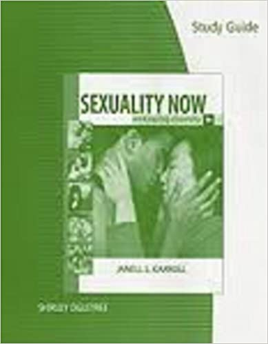 Human sexuality carroll 4th edition