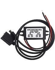 3A DC Buck Step-Down Converter Voltage Regulator met USB Plug voor Auto Stereo Radio Monitoring (USB2.0 & Micro USB)