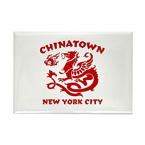 CafePress Chinatown New York City Rectangle Magnet, 2
