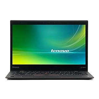 Lenovo X1 Carbon Ultrabook 14in Display, Intel Core i5-5300U 2.3GHz, 8GB RAM, 240GB SSD, Webcam, Windows 10 Pro (Renewed)