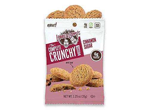 Lenny and Larrys The Complete Crunchy Cookie - NEW Bite Sized Plant Based Protein Cookies- 3 Variety, 4 of each flavor (12 pk) - Vegan - Non Gmo by Lenny and Larry (Image #2)