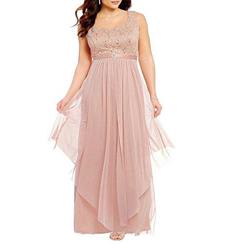 R&M Richards Women's Plus Size Formal Jacket Dress - Mother Of The Bride Dress (18W, Blush)