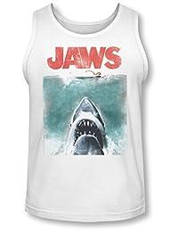 Jaws - Mens Vintage Poster Tank-Top