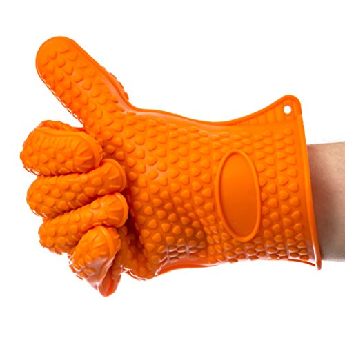 Discover Bargain SFO BBQ Grilling Gloves, Most Versatile Oven Mitts and Hot Pads