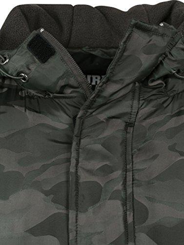 Padded Pull Urban 551 Uomo Jacket Grün Giacca Camo darkolive Over Classics UwUqAt5