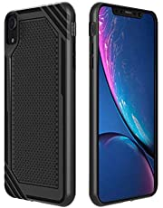 iPhone XR Case, CHOETECH Slim Fit Flexible TPU Cell Phone Case with Drop protectionion and Fingerprint-Free Compatible with iPhone XR-Black