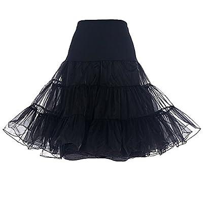 Dresstells® Women's Vintage Rockabilly Petticoat Skirt Tutu 1950s Underskirt
