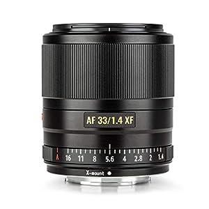 VILTROX AF 33mm f1.4 STM XF Objectif à Focale Fixe Portrait Mise au Point Automatique Grande Ouverture Objectif pour…