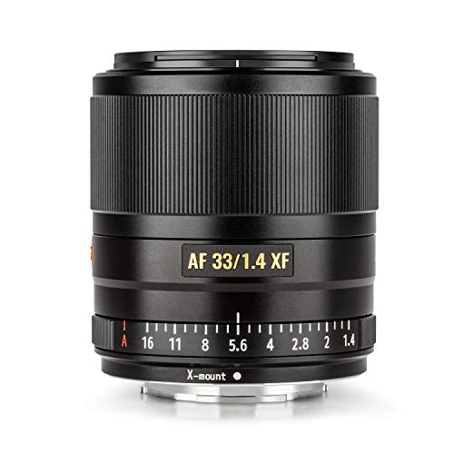 VILTROX 33mm 1.4 fujifilm AF 33mm F1.4 XF Auto Focus Fixed Focus Lens for Fujifilm Fuji X-Mount Camera X-T3 X-T2 X-H1 X20 X-T30 X-T20
