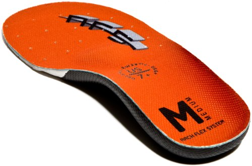 ArchFlexSystem Adult Upgrade Replacement Insole, Medium Orange, 5 by ArchFlexSystem Footbeds