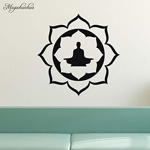 zxddzl Religión Lotus Patrón de Buda Arte Pegatinas de Pared para ...