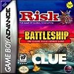 Risk/Battleship/Clue - Game Boy Advance