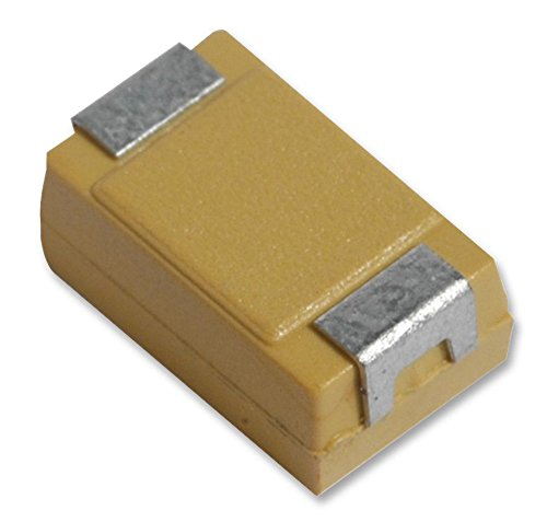 Condensateurs–TANTALE–Pac tant 10UF 10V Coque R–lot de 5–tljr106m010r3000–Lot de 5 AVX