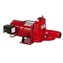 Red Lion RJC-100 1-HP Convertible Jet Pump with Injector Kit, Cast Iron