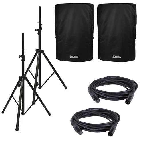 Solena Premium 12-Inch Speaker Accessory Pack by Solena Professional