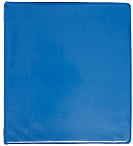 UPC 050362185365, Samsill Economy 3 Ring View Binder, 1 Inch Round Ring Holds 225 Sheets, Customizable Clear View Cover, Cobalt Blue (18536)