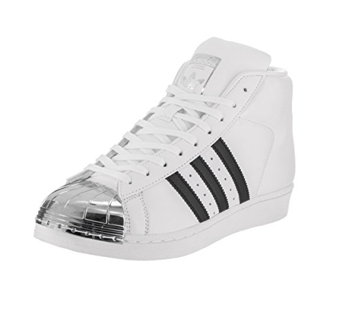 adidas W Sneakers Donna Metal Toe Model Pelle Bianco PRO rUqrOXxwf