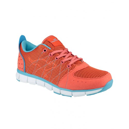 KangaRoos KR3271A Luke Ladies Sports Shoes / Womens Trainers (9 US) (Pink/Light Blue)