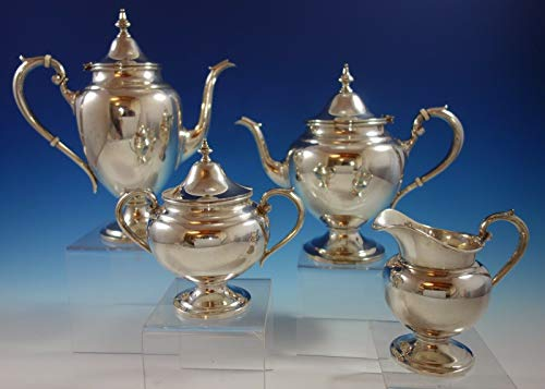 Puritan by Gorham Sterling Silver Tea Set 4pc (#2509) ()