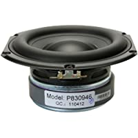 Peerless by Tymphany 830946 6-1/2 Paper Cone Woofer Speaker 4 Ohm