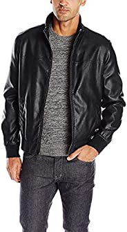 Tommy Hilfiger Men's Smooth Lamb Touch Faux Leather Unfilled Bo
