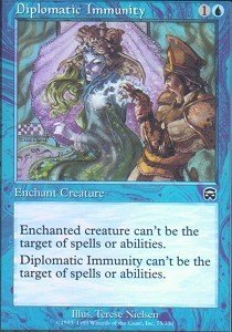 - Magic: the Gathering - Diplomatic Immunity - Mercadian Masques - Foil
