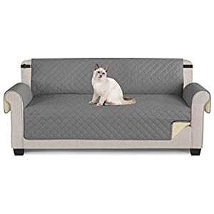 TAOCOCO Sofa Covers 3 Seater 100% Waterproof,Sofa/Chair Slipcovers,Slip Cover for Dogs,Sofa Protector with Elastic Strap…