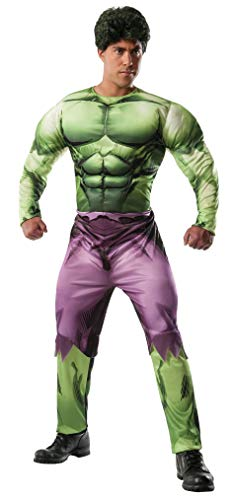 Incredible Hulk Costumes For Adults - Rubie's Men's Marvel Universe Adult Deluxe