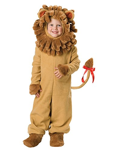 InCharacter Costumes Baby's Lil' Lion Costume, Tan, Small (Halloween Costume Ideas For Toddlers)
