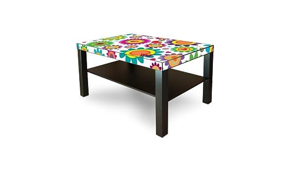 Diseño Sticker Banjado para Ikea Lack - Mesa 90 x 55 cm, con ...