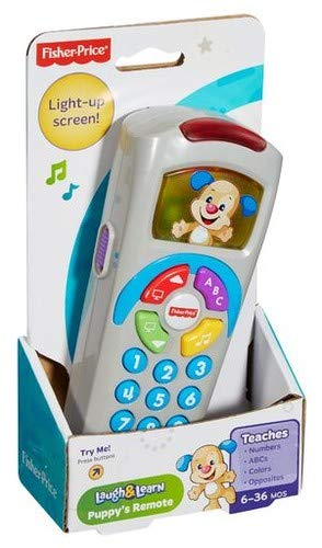 Fisher-Price Laugh & Learn Puppy's Remote (Best Remote Control Toy For 4 Year Old)