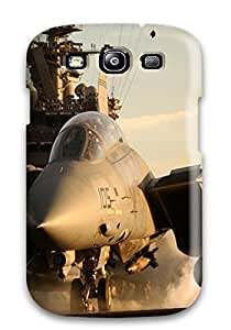 Evelyn C. Wingfield's Shop New Style 5255618K80047519 Top Quality Case Cover For Galaxy S3 Case With Nice Jet Fighter Military Man Made Military Appearance
