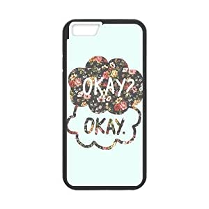Diy Okay the Fault For SamSung Galaxy S6 Phone Case Cover Black Shell For SamSung Galaxy S6 Phone Case Cover [Pattern]