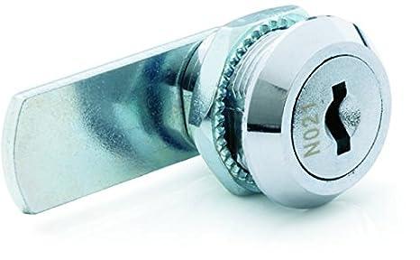 Ojmar Basico – Palanca Cerradura para armario puertas y cajones de metal con perfil de cerrojo