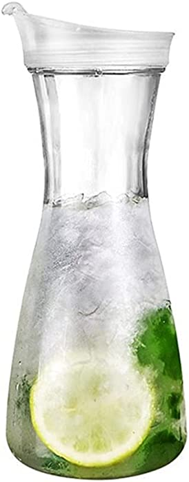 Pitcher Carafes with Lid for Juice 20 oz Plastic Carafe with Lid for Juice with Lid Decanter Drink Bottle 0.6 Liter Pitcher Beverage Container Kettle Carafes for Juice Plastic for Halloween Party