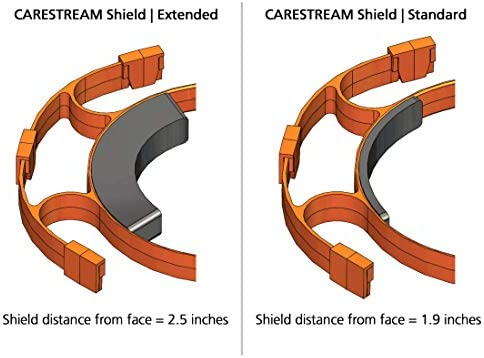 CARESTREAM Shield 5 Replacement Shields Does not include Orange Holder Made in USA