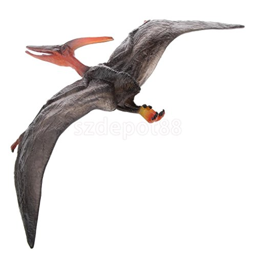 Mini Pteranodon Model Animal Model Toy Kids Party Play Show Case Display Toy by uptogethertek