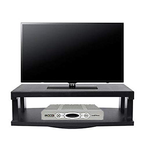 - Heavens Tvcz TV Stand Black 360 Degrees Swivels Flat Screens Entertainment Centre Center Storage Cabinet Furniture