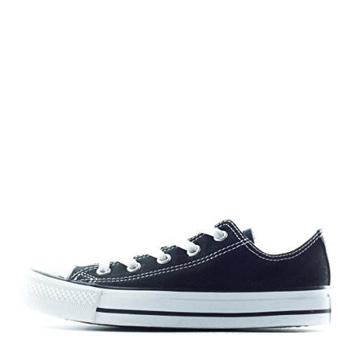 Converse Chuck Taylor All Star Ox Low Skate Shoes - Black-10