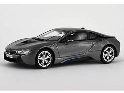 Buy Bmw I8 Grey With Blue 1 43 Diecast Model Car By Paragon Online