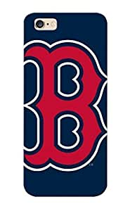 Fireingrass Anti-scratch And Shatterproof Boston Red Sox Baseball Phone Case For Iphone 6 Plus/ High Quality Tpu Case