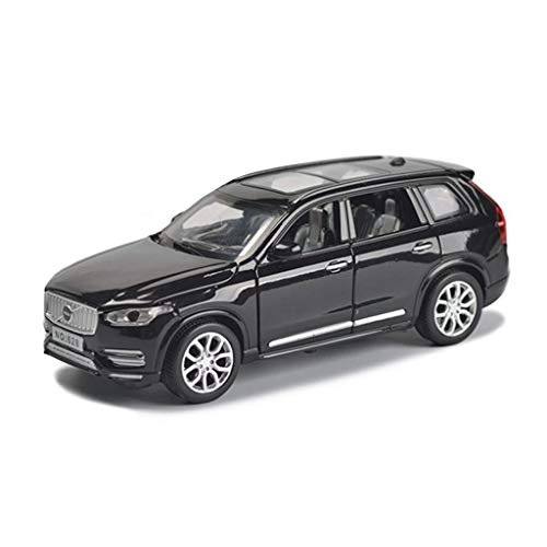 XINGXIANYIGOU Automotive Die-Casting Ornament, Made of Alloy 1:32 Ratio Volv00o XC90 Model, The Door Can be Opened (Color : Black, Size : 1565.5CM)
