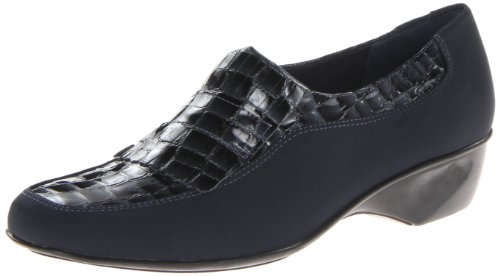 Ciondoli Da Donna Biglietto Piatto Navy Stretch / Navy In Vernice Coccodrillo