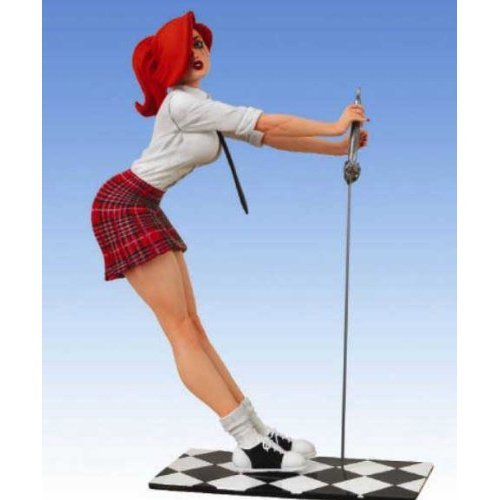 Sdcc Exclusive Statue - SDCC 2009 Exclusive PVC Statue Red Skirt Dawn